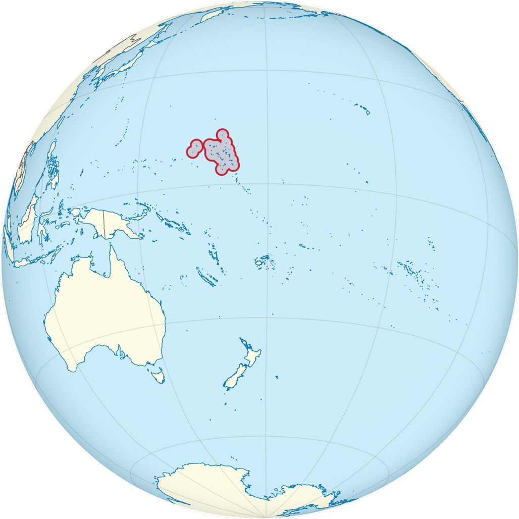 The Marshall Islands – Pacific Ocean