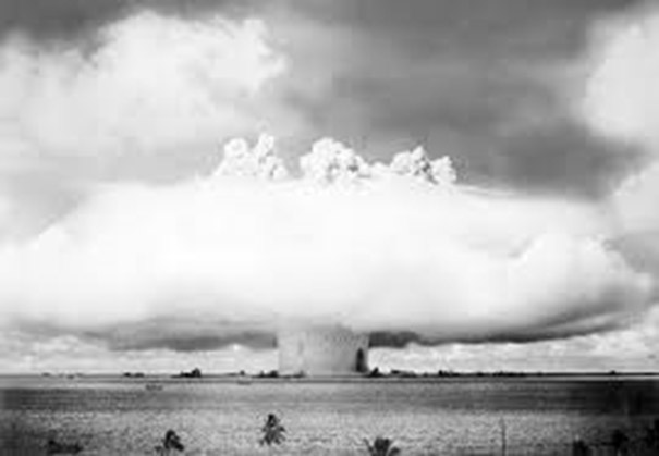 Baker Bomb – part of Operation Crossroads in 1946