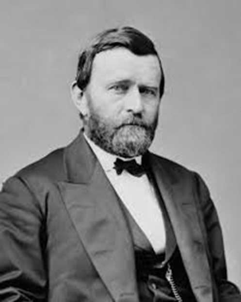 President Grant – General of the Union Army under President Lincoln